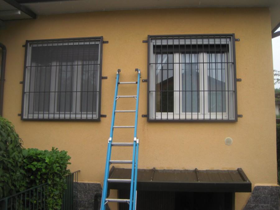 Inferriate grate di sicurezza per finestre in ferro - Inferriate di sicurezza costi ...